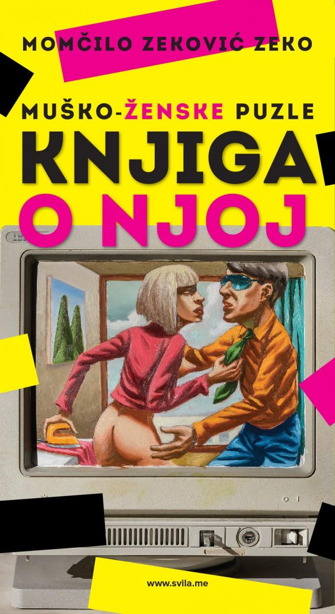 """Зеков нови роман """"Мушко-женске пуззле (Књига о њој)"""" доступан од понедјељка"""