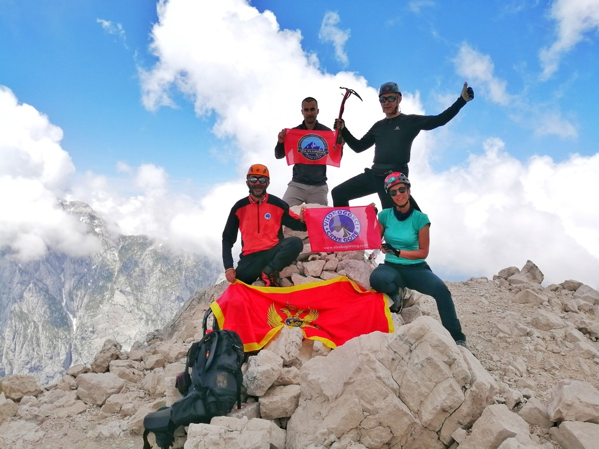 Црногорски планинари успјешни на Доломитима и Јулијским Алпима