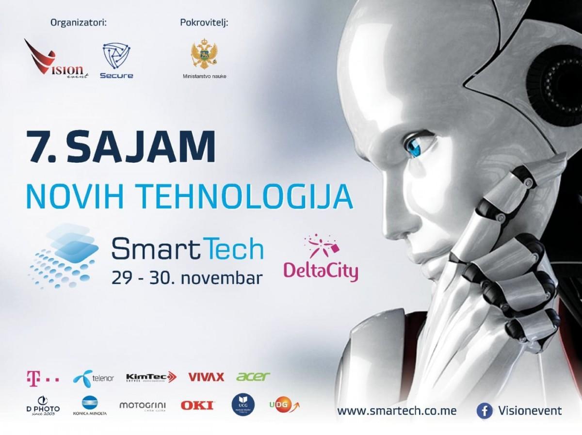 """Sajam novih tehnologija """"Smart Tech""""  29. i 30. novembra u Podgorici"""