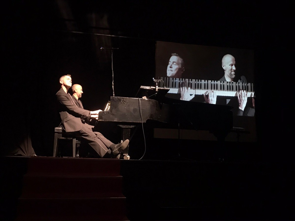 """Klavirski duo """"Pianotainment""""odusevio kotorsku publiku"""