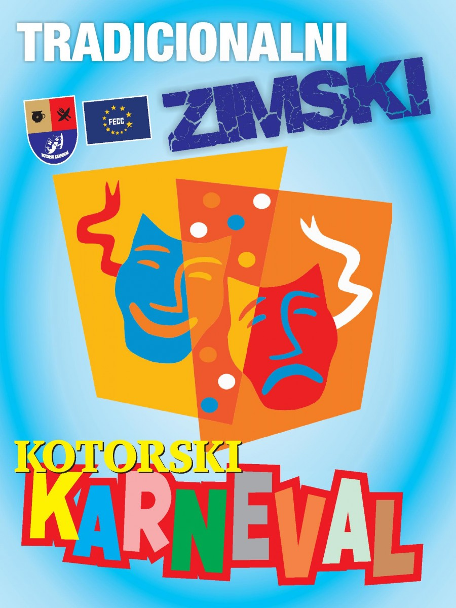 ZIMSKE KOTORSKE KARNEVALSKE FEŠTE 2020
