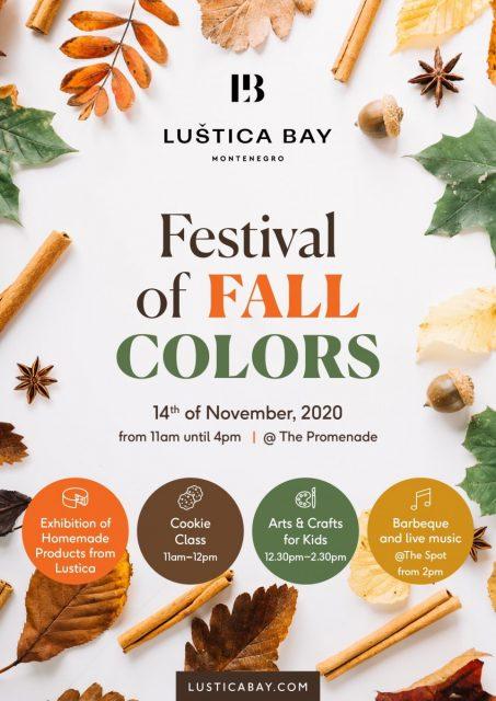 Treći festival jesenjih boja u Luštica Bay