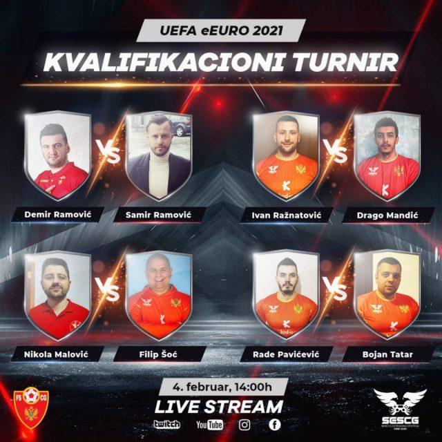 Crnogorski gejmeri igraće na Vembliju