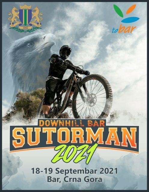 "Downhill mountain bike trka ""Sutorman 2021"""